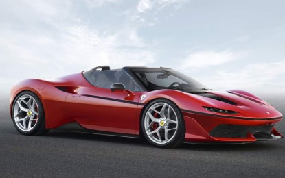 Ferrari iznenadio novim automobile J50 Limited Edition Supercar