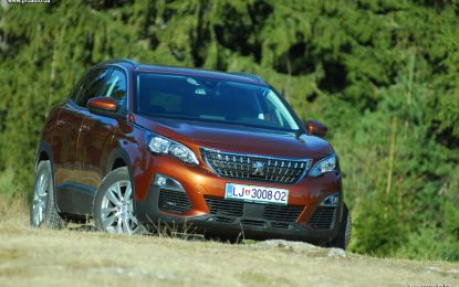 TEST – Peugeot 3008 Active 1.6 BlueHDi 120 Stop&Start Eur6 BVM6