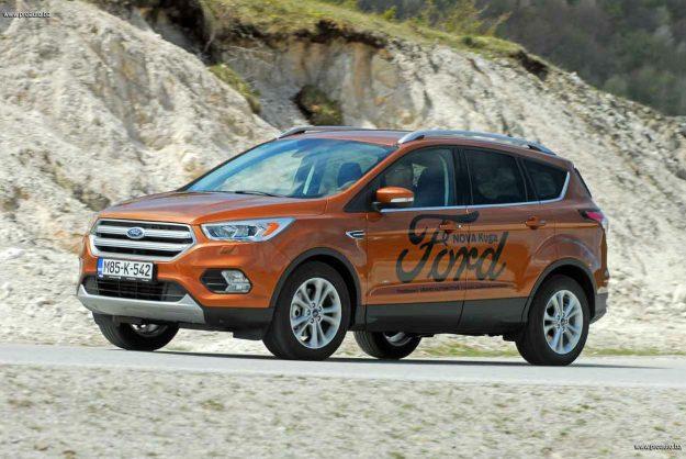 TEST – Ford Kuga Titanium 2.0 TDCi AWD A6 (150)