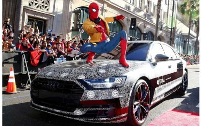 Audi A8 – predpremijerno, na premijeri filma Spider-Man: Homecoming [Galerija i Video]