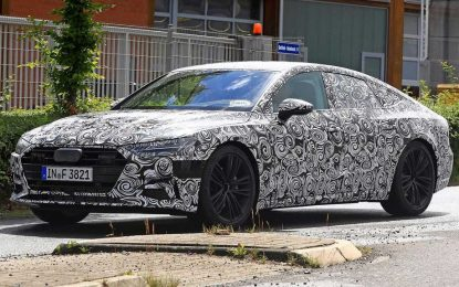 Novi Audi A7 još uvijek pod kamuflažom