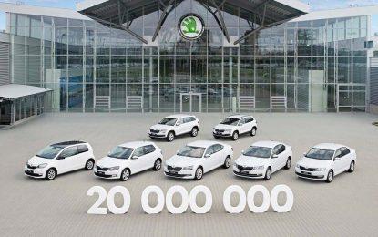 Škoda proizvela 20 miliona automobila