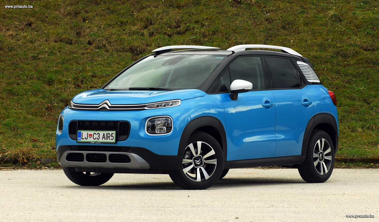 proauto test citroen c3 aircross shine puretech 110 s s bvm. Black Bedroom Furniture Sets. Home Design Ideas