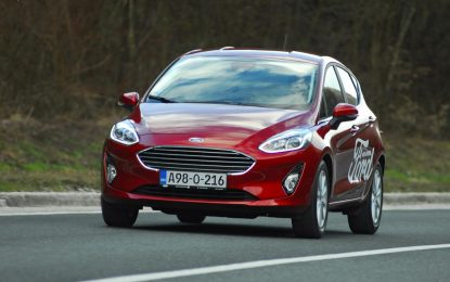 TEST – Ford Fiesta Titanium 1.0 EcoBoost 125KS Euro6 Start/Stop M6 (5 vr.)