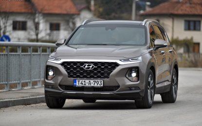 TEST – Hyundai Santa Fe 2.2 CRDi 8A/T 4WD Diamond