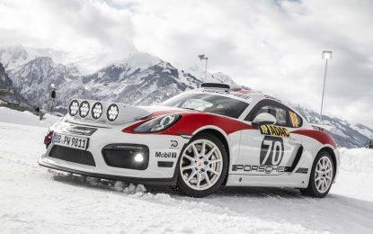 Povrtak Porschea na reli takmičenja sa modelom Cayman GT4 Rallye [Galerija]