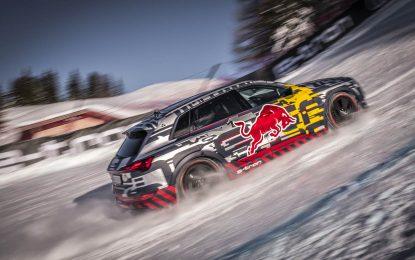 Audi e-tron pokorio legendarnu skijašku spust-stazu Streif, u Kitzbühelu [Galerija i Video]