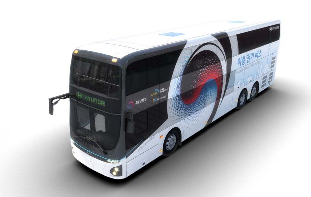 Hyundai Electric Double-Decker Bus [2019]