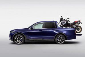 BMW X7 koji je bio za otpad pretvoren u najluksuzniji pick-up [Galerija]