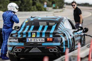 Porsche Taycan – testne vožnje na stazi Nardò