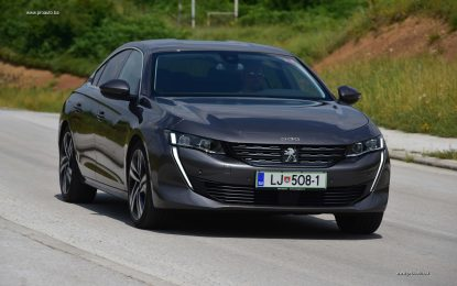 TEST – Peugeot 508 Allure 2.0 BlueHDi 180 S&S EAT8