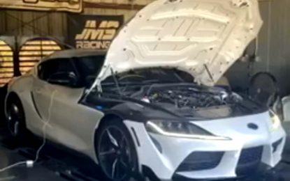 DME Tuning Toyota Supra sa 528 KS [Video]