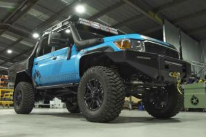 PCOR Toyota Land Cruiser LC79 – australski Supertourer [Galerija i Video]