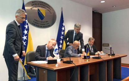 U Sarajevu potpisan ugovor o izgradnji dionice Banja Luka – Doboj, na Koridoru 5c