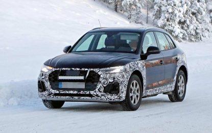 Audi Q5 – u toku pripreme za osvježenje