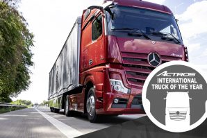 Mercedes-Benz Actros proglašen međunarodnim kamionom godine