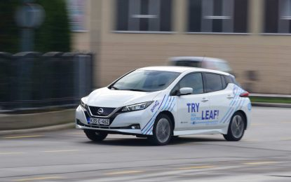 TEST – Nissan Leaf 40 kWh N-Connecta