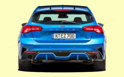 Ford Focus RS možda sa hibridnim pogonom
