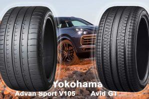 Gume Yokohama Advan Sport V105 i Avid GT – originalna oprema za Porsche Cayenne