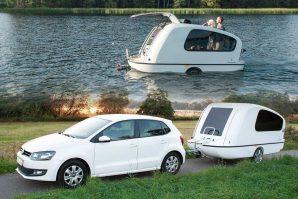Sealander – maleni karavan-motor-prikolica koji može i ploviti [Galerija i Video]