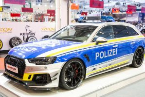 "Abt RS4-R original police design – ""Tune It! Safe!"""