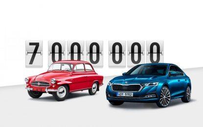 Škoda Octavia u milionima