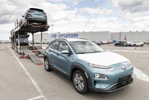 Hyundai započeo isporuku modela Kona Electric proizvedenih u Češkoj