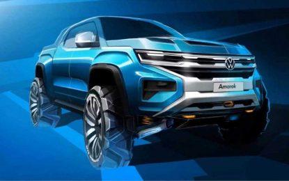 Novi Volkswagen Amarok – za sada samo teaser