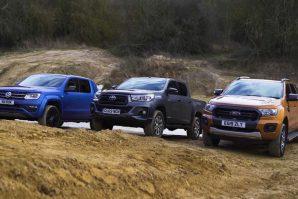 Troboj najpopularnijih pick-upa – Ford Ranger, Toyota Hilux i Volkswagen Amarok [Video]