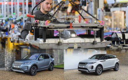 Jaguar Land Rover predstavlja novi plug-in hibridni sistem [Galerija]