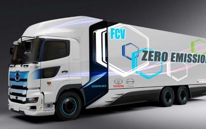 Toyota i Hino zajedno razvijaju kamion s pogonom na gorive ćelije