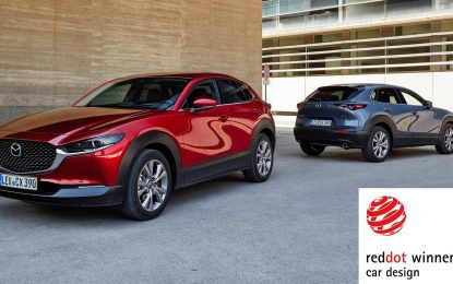 """Mazda CX-30 i MX-30 osvojile nagradu """"Red Dot"""""""