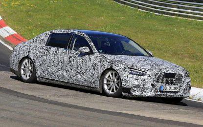 Mercedes-Maybach S-Class – šta skriva kamuflaža?