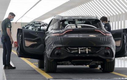 Aston Martin Lagonda – ponovno pokretanje proizvodnje [Galerija]