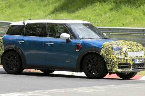 Redizajnirani Mini Countryman na završnim testovima na Nürburgringu