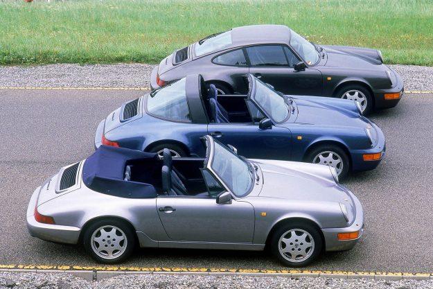 Porsche MY 1990: 911 Carrera 4 3.6 Cabriolet; 911 Carrera 4 3.6 Targa; 911 Carrera 4 3.6 Coupe
