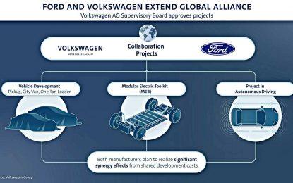 Tri projekta Volkswagena i Forda kao prvi korak šire saradnje