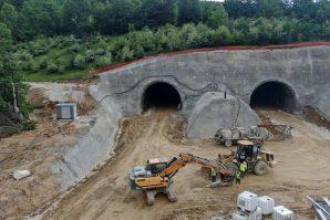 Pandemija virusa corona nije utjecala na građevinske radove na izgradnji tunela Ivan