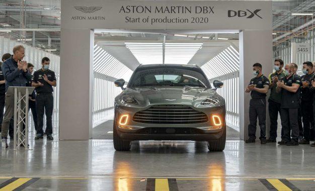 Aston Martin započeo proizvodnju luksuznog SUV-a DBX [Galerija i Video]