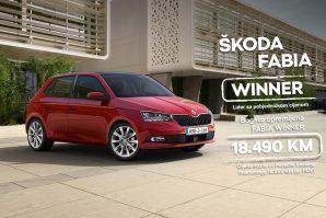 Pobjedničke cijene se nastavljaju uz kampanju Fabia Winner