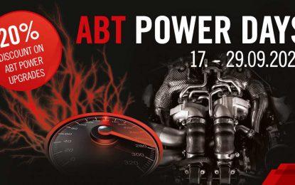 "Abt Sportsline organizuje ""Abt Power Days"""