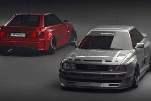 """Audi nikada nije napravio RS2 Coupe, ali zato tunerska kuća Prior Design ispravlja taj """"propust"""" [Galerija i Video]"""