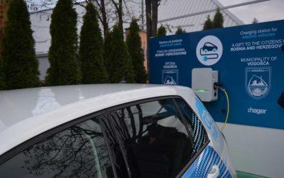 Instaliran prvi punjač za električne automobile u Vogošći