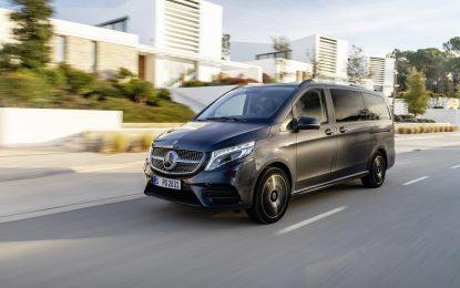 Mercedes-Benz V-Class prvi u segmentu MPV-a dolazi sa zračnim ovjesom
