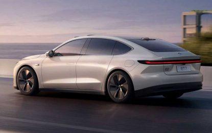 Nio ET7 – električni sedan s izmjenjivim baterijama [Galerija]