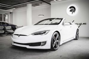 Ares Design Tesla Model S Convertible [Galerija]