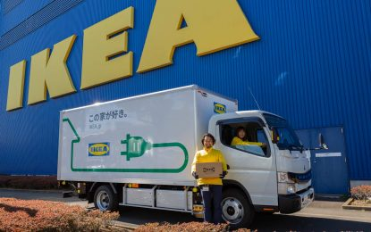 Fuso eCanter – IKEA Japan koristi električne kamione za dostavu
