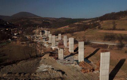 Znate li dokle je došla izgradnja poddionice Tarčin – Ivan, na koridoru 5c? [Galerija]