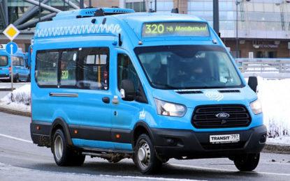 """Ford Transit: 160 minibusa za """"moskovske mahale"""""""