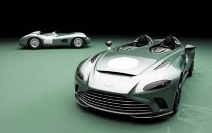 Aston Martin V12 Speedster DBR1: Specijalna serija od 88 vozila